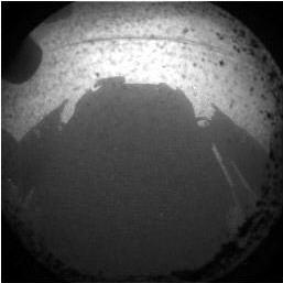 Первый снимок нового американского марсохода