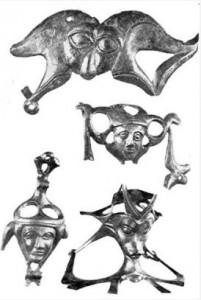 Реальное кельтское украшение из музейной экспозиции