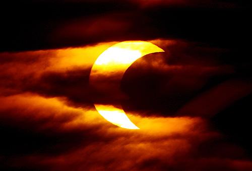 Солнечное затмение 29 апреля 2014