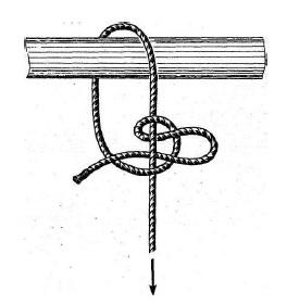 Вязание рыболовных сетей калмыцким узлом 65