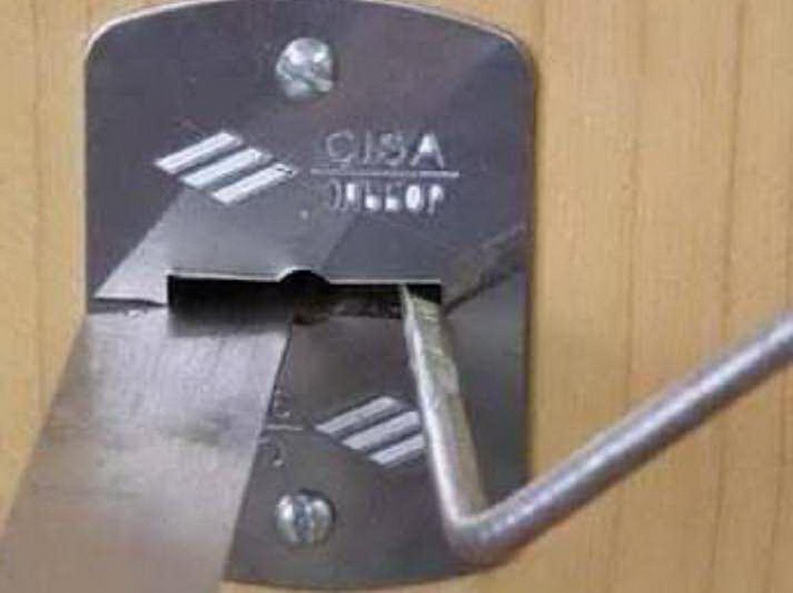 CERBER. сувальд с двойной бородкой ключа