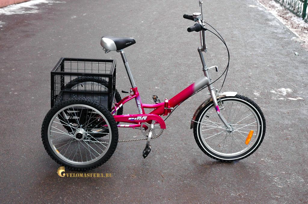 301Велосипеды трехколесные взрослые