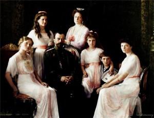 Венценосная семья Романовых