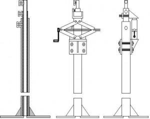 Рисунок 3. Конструкция ветряка.